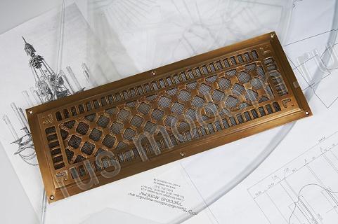 решетка латунная декоративная